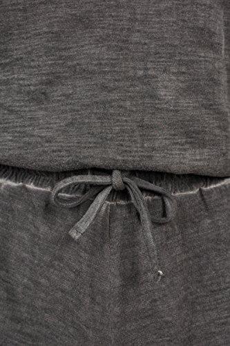 Urban Classics Damen Jumpsuit Ladies Cold Dye Short, Grau (Grey 00111) - 3