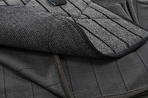 Aqua Clean Black Edition Fenstertücher Systemreinigung 6tlg.