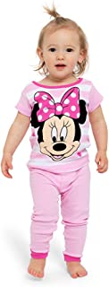 Girls' Minnie Mouse 4-Piece Cotton Pajama Set
