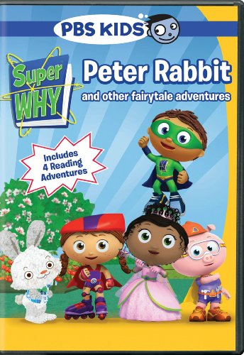 Super Why! Peter Rabbit and Other Fairytale Adventures DVD