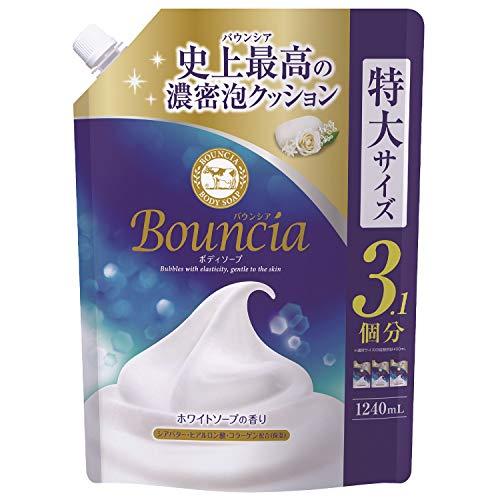 バウンシアボディソープ ホワイトソープの香り 1240ml 詰め替え用
