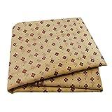 PEEGLI Indische Frauen Vintage Sari Creme Ethnischen Kleid
