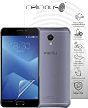 Celicious Impact Anti-Shock Shatterproof Screen Protector Film Compatible with Meizu M5 Note