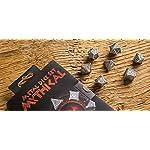 Q-Workshop Metal Mythical 7 Polyhedral Ornamented Dice Set 7