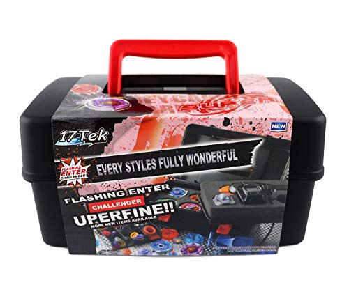 17Tek Battle Tops Case, Storage Carrying Box for Beyblade Burst Battling Games