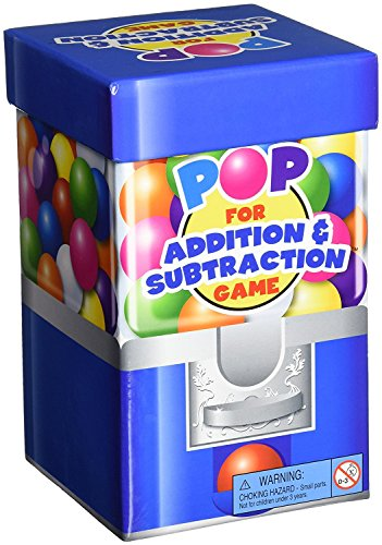 Learning Resources- Juego de sumas y restas for Addition & Substraction de la Gama Pop Games, Color (LER8441)