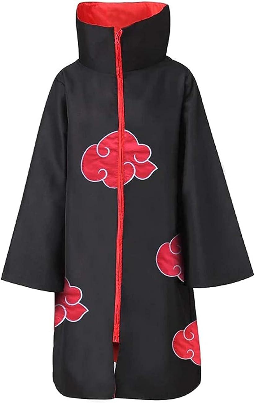 low-pricing JXAYBSM Akatsuki Cloak Naruto Cosplay Costume Itachi Rob Our shop most popular
