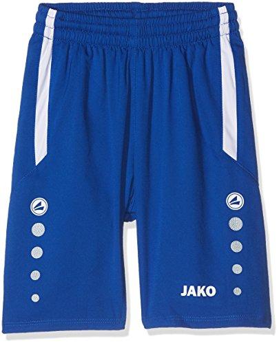 JAKO Pantalon Sport Football Florence XXS Bleu Roi/Blanc