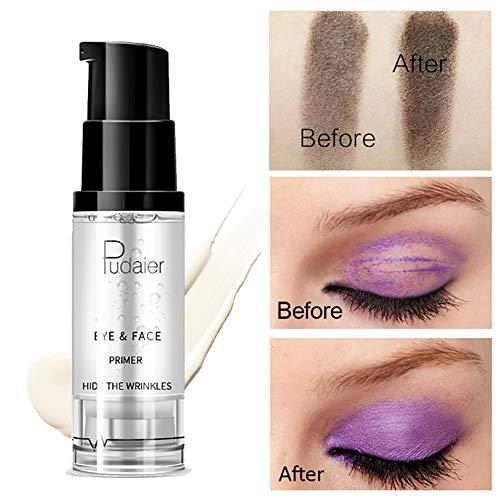 Bolso de 1bottle magia Eye Primer Base de maquillaje sombra de ojos Para prevenir Grasa tapas y arrugar Claro impermeable sombra de ojos Primer (8 ml)