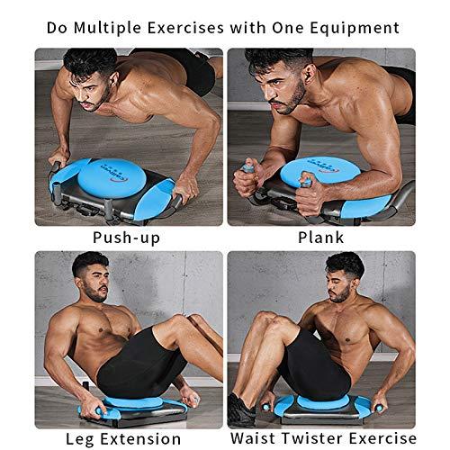 KFK Plank Exerciser Push up Board Exercise Waist Twisting
