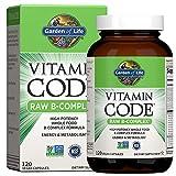 Garden Of Life Vitamin Code Raw Vitamina B Complejo 120 Cápsulas 240 g