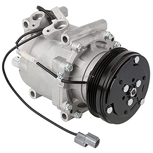 AC Compressor & A/C Clutch For Honda CR-V Civic & Del Sol - BuyAutoParts 60-01457NA NEW