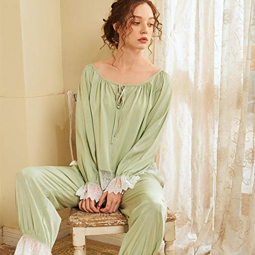 STJDM Bata de Noche,Pink Green Sexy Women Sleep Nightwear...