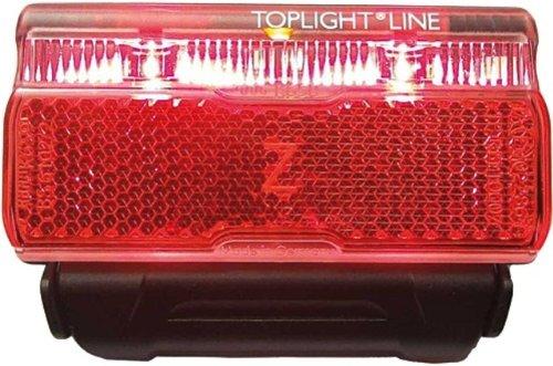 Busch & Müller Rücklicht Toplight Line Permanent 50 mm, schwarz/rot, one size