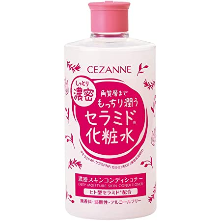 セザンヌ 濃密スキンコンディショナー 410ml 高保湿セラミド化粧水 1本で保湿&肌バリア