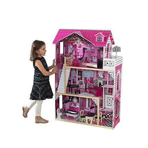 Kidkraft 65093 Casa delle Bambole Amelia in Legno adatta per...