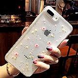 Bakicey iPhone 8 Hülle, iPhone 7 Handyhülle Getrocknete