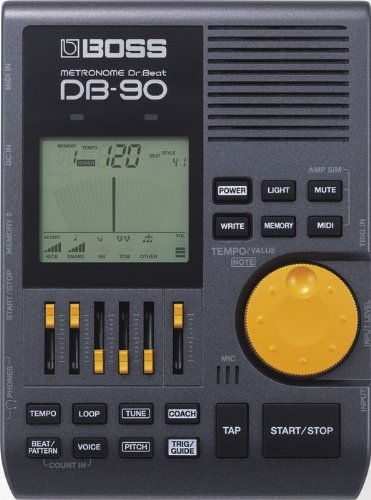 BOSS DB-90 Dr. Beat Portable Metronome (DB-90) , BLACK