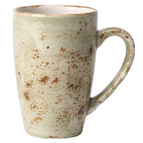 Steelite Craft Quench Becher grün 280ml/10oz | Kaffee Tasse, Tee Tasse, Cappuccino Tasse, Steelite Tasse