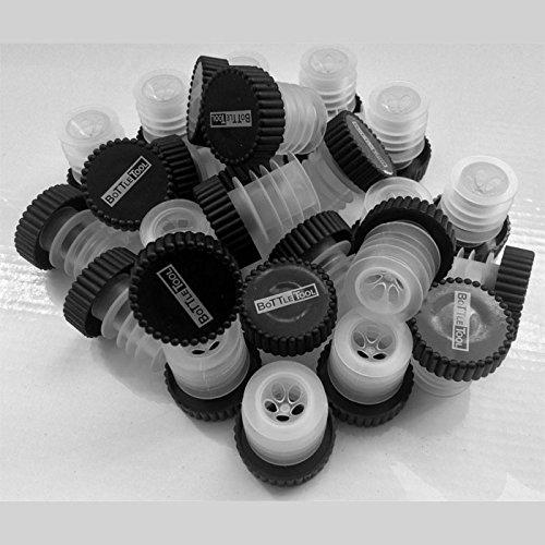 DiVino Marketing - Confezione N° 50 Tappi Dosatore Aeratore Universale per Bottiglie Standard da 0,75 e Magnum da 1,5 Lt. - L'Originale ed Unico By DiVino Marketing