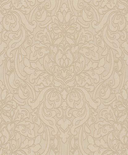 Textiltapete Rasch Textil Liaison Barock beige braun 078090