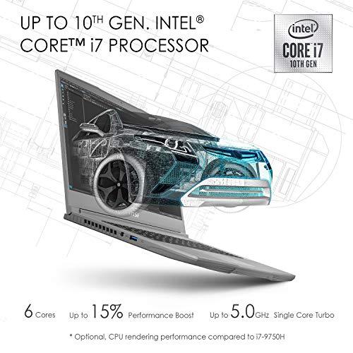 MSI WF65, Intel 10th Gen. i7-10750HH, 15.6