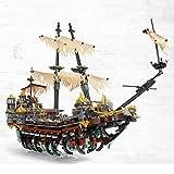 XSLY Ninjago Piratas del rompecabezas Serie del Caribe bloques de construcción de juguete de bricolaje Destino Recompensa regalos educativos Juegos de construcción Modelo Niños Difícil conjunto apilad