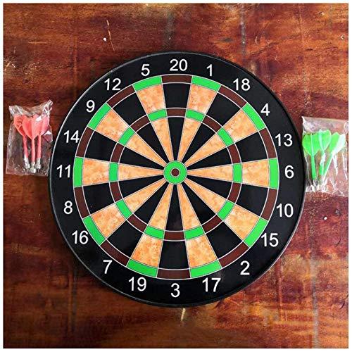 Genau Magnetic Dart Board, Indoor Outdoor DART GAMES FÜR KINDER MIT 6 STÜCKE Magnete Darts, Sicherheitsspielzeugspiele, Indoor Outdoors Party-Spiele, Black_15inch ( Color : Black , Size : 17inch )