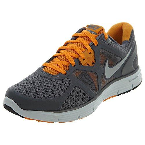 Nike Lunarglide 3 Grey Orange Running Shoes Womens Style: 454315-008 Size: 5.5