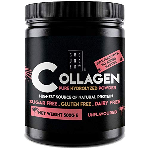 Premium Hydrolysed Collagen Protein Peptide Powder | Hormone Free Grass Fed Bovine for Strong Bones, Muscles, Joint Pains, Healthy Hair, Skin, Nails & Wrinkles. Tasteless & BSE Safe