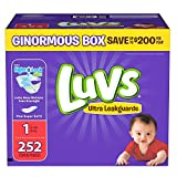 Luvs Ultra anti-fuites Extra Longues Taille 1couches de 252