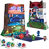 PJ Masks Night Time Micros Mystery HQ Box Set, Collectible Hidden Mini Figures, Styles May Vary