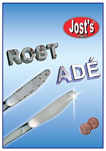 Jost's Original Rost Adé! Der langlebige Roststopper im Vorratspack für Ihr Besteck, ist vorrätig!