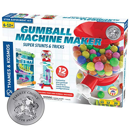 Thames & Kosmos Gumball Machine Maker Lab - Super Stunts & Tricks | Build Your Own Gumball Machines...