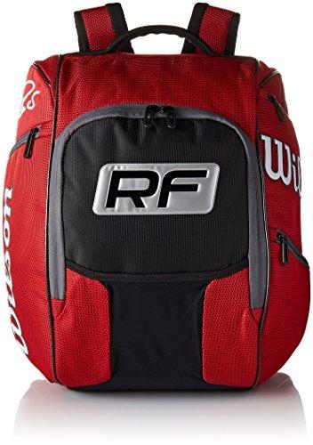 Wilson WRZ832696 Zaino Federer, Rosso
