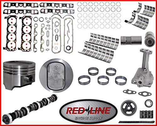 Stage One High Performance Master Engine Rebuild Overhaul Kit Fits: 1983-1986 Ford 351 351W 5.8L OHV V8 16V Windsor Bronco