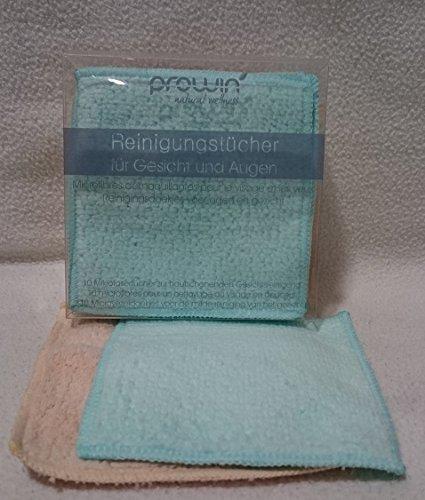 proWin Reinigungstücher für Gesicht & Augen 10er Box