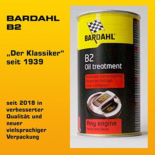 Bardahl 01001 Tratamiento Aceite vehículo +60.000 Kms / B2 Oil Treatment