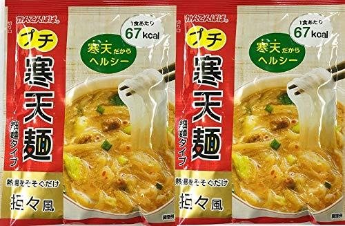 かんてんぱぱ プチ寒天麺 担担風 細麺タイプ 18.8g20袋
