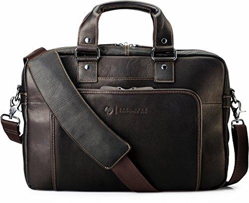 HP Elite Leder Topload-Tasche (35,56 cm /14 Zoll) für Notebooks, Laptops, Tablets in braun