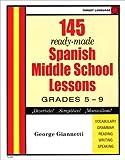 Spanish Middle School Lesson Plans (Spanish Edition)