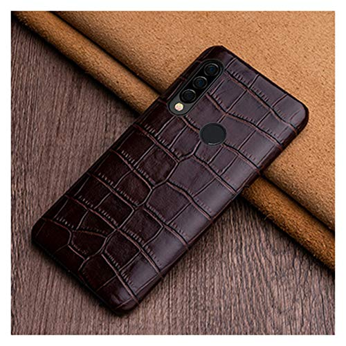 LBWNB Carcasa de telefono Caja del teléfono de Cuero Fit For Huawei P20 P30 Lite P40 Pro Nova 5T Case Fit For Honor 9X 10 20 30 Pro TRABACIÓN DE LA Textura Caja de teléfono móvil líquido