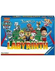 Ravensburger - Labyrinthe Junior Pat Patrouille - Version voyage - Jeu de Plateau Enfants à partir de 4 ans - De 2 à 4 joueurs - 20799 (Multilingue, Français inclus)