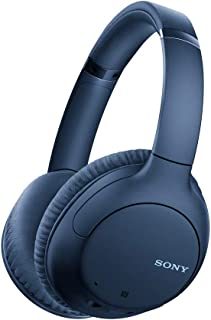 Sony Noise Cancelling Headphones WHCH710N: Wireless Bluetooth Over The Ear Headset with Mic for Phone-Call and Alexa Voice...