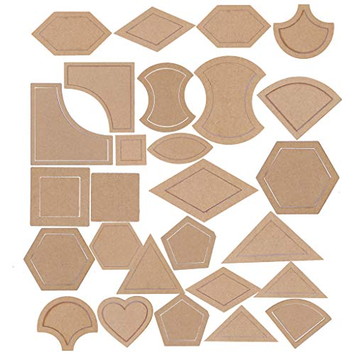 Lot de 27 outils de couture pour patchwork, travaux manuels
