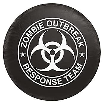 Bully CM07W Spare Tire Cover with Zombie White Logo