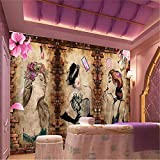 Mural, 3D, Fondo De Pantalla De Maquillaje, Tatuaje, Tienda De Belleza, Manicura, Fondo De Pantalla Mural, 250Cm (W) X 175Cm (H)