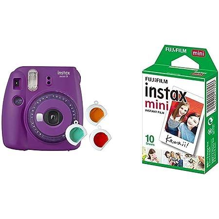 Fujifilm Instax Mini 9 Kamera Mit Farblinsen Lila Kamera