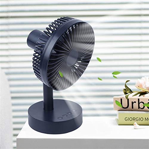 LYJL (portátil USB Mini Fan Ventilador De 90 Gradores De Agujera De Agua Mute Mute De España para La Oficina del Hogar