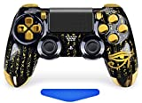 All-Seeing Eye PS4 PRO Rapid Fire Custom Modded Controller 40 Mods for All Major Shooter Games, Quick Scope Sniper Breath & More (CUH-ZCT2U)